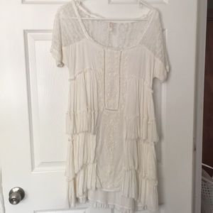 Free people mini dress - ivory